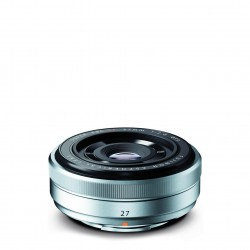 Fuji XF 27mm, 2,8 silber
