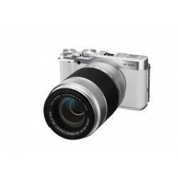 Fuji X-A2 XC 16-50 OIS 3,5-5,6 + 50-300 weiß