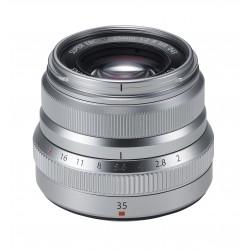 Fuji XF 35mm, 2 R WR silber