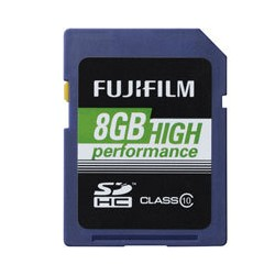 Fuji 8GB SDHC High Performance