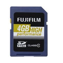 FUJI 4GB SDHC High Perfomance