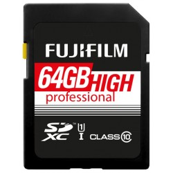 Fuji 64GB SDXC High Performance UHS-I