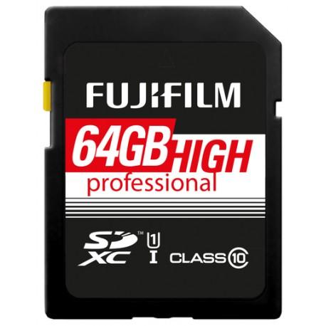 Fuji 64GB SDXC High Performance UHS-I