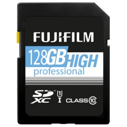 Fuji 128GB SDXC High Performance UHS-I