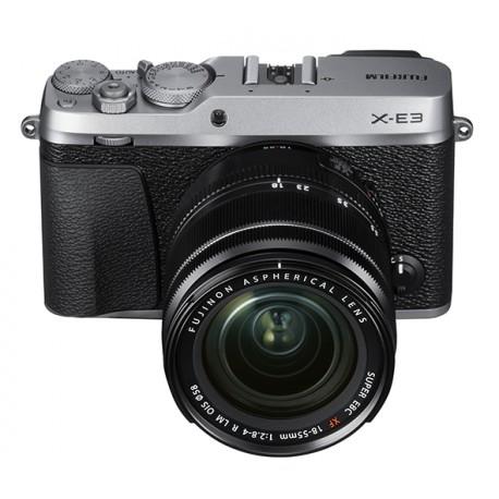 Fuji X-E3 XF 18-55mm silber