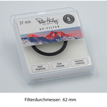Peter Hadley UV Filter 62mm