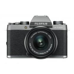 Fuji X-T100 silber + XC 15-45mm