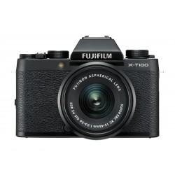 Fuji X-T100 schwarz + XC 15-45mm