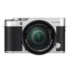 Fuji X-A3 silber XC 16-50mm