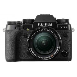 Fuji X-T2 XF 18-55 schwarz + VPB-XT2