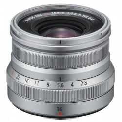 Fuji XF 16mm 1:2,8 silber