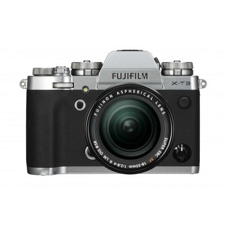 Fuji X-T3 silber XF 18-55mm 2,8-4