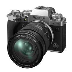 Fuji X-T4 silber XF 16-80mm